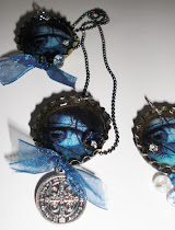 Possess Necklaces, Handmade by yours truly for YA Author Gretchen McNeil
