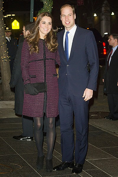 Duchess Kate and Prince William in USA