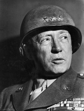 General GEORGE SMITH PATTON Jr (California, 11/11/1885 - Heidelberg, Alemania, 21/12/1945)
