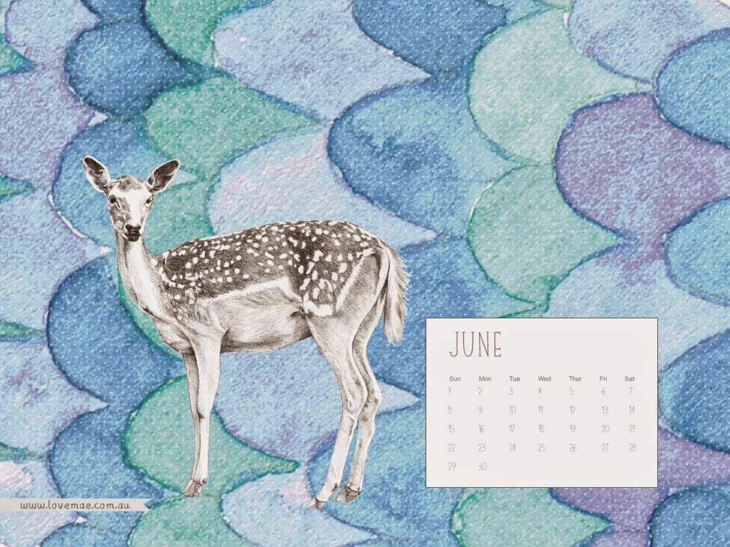 Calendar Wallpaper Love Mae : June you beautiful thing free desktop calendar love mae