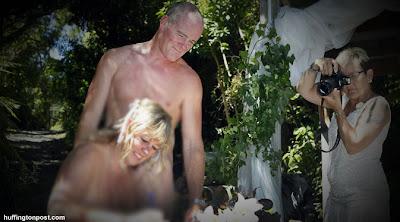 Pernikahan Unik Tanpa Menggunakan Busana I http://lintasjagat.blogspot.com/