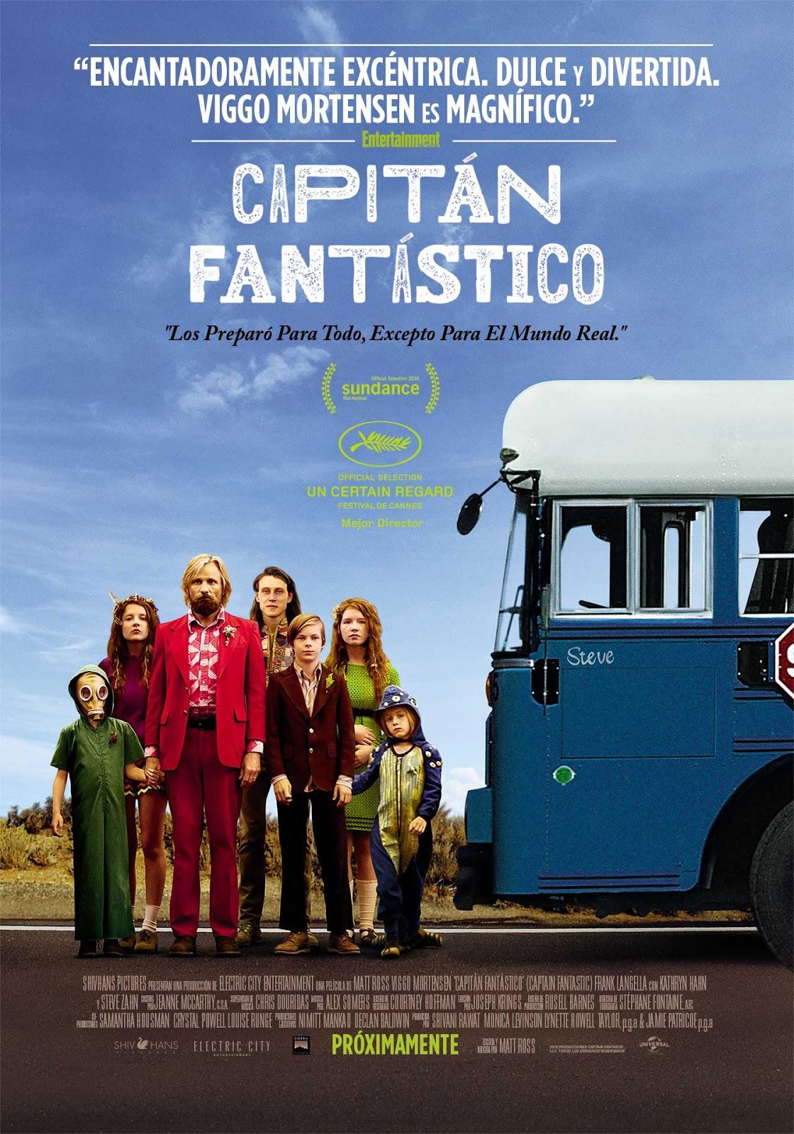 Capitán Fantástico | 2016 | Dual | 720p | Mega | Uptobox