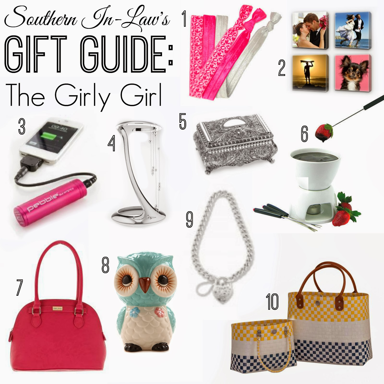 Southern In Law: SIL Gift Guides: The Girly Girl