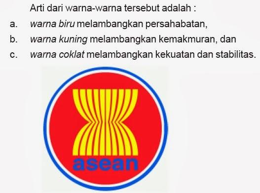 Lambang ASEAN merupakan lambang perhimpunan bangsa – bangsa di Asia ...