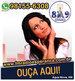 CLIQUE AQUI E OUÇA A ESPERANÇA FM