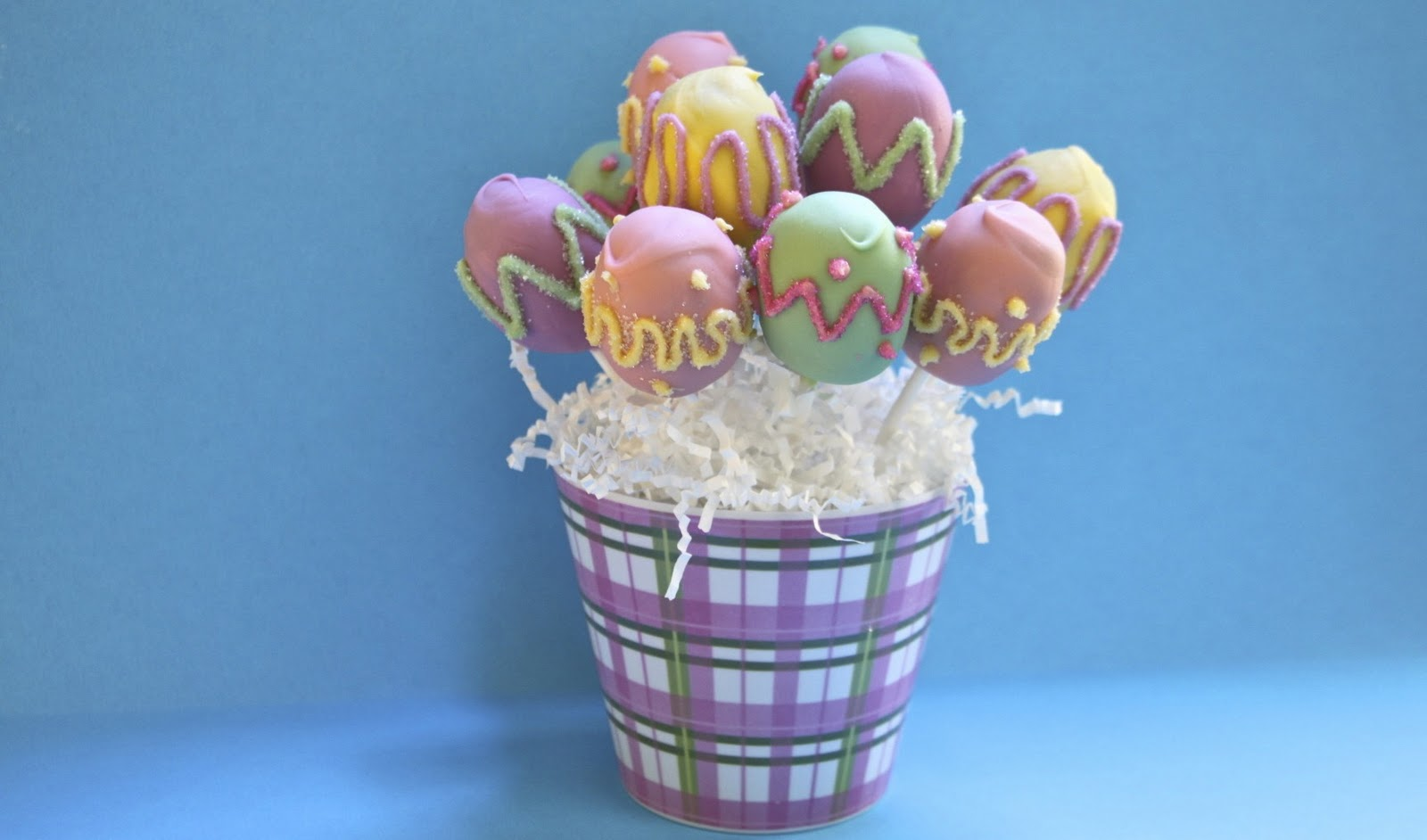 Easter Cake Pop Bouquets