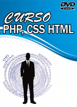 capa Curso: Completo de PHP/CSS/HTML – MJailton CD 1