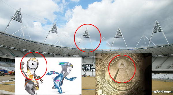 A conspiratorial view of the London 2012 Olympics