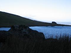 Evening falls over Lough Mohra