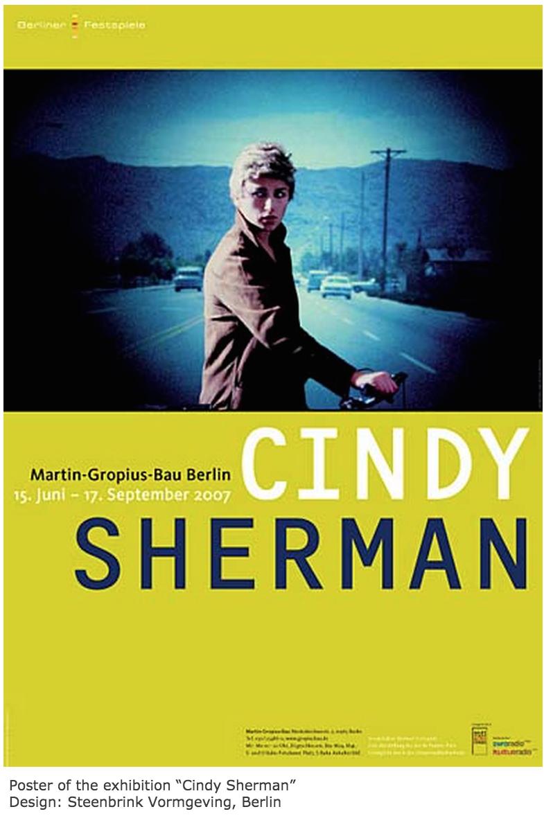 Cindy Sherman 2007 Martin-Gropius-Bau Berlin poster