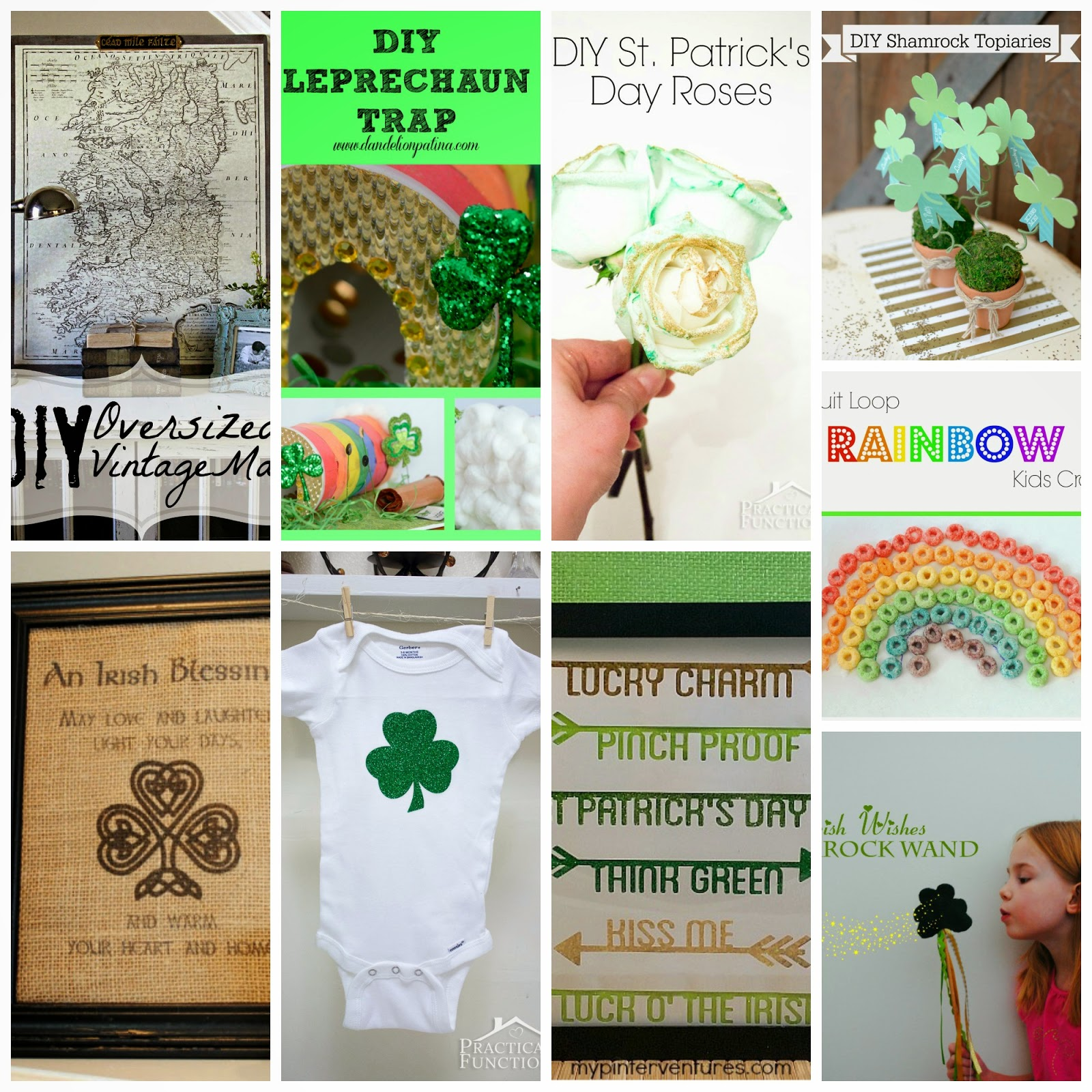 10 Super Awesome St. Patrick's Day Inspired Crafts #diy #stpatricksday