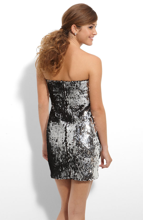 strapless-sequin-dress