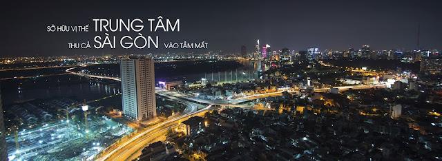 View quận 1 tại tòa nhà Shaphire - Saigon Pearl