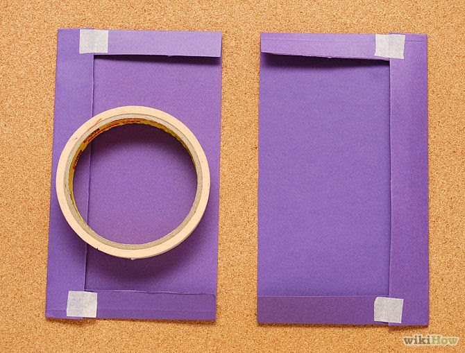How to Cover a Book With a Paper Folder step 3