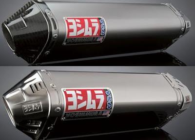 2012 Yoshimura TRC Full System Exhaust (Stainless/Titanium)