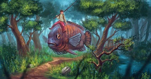 Alexandra Schastlivaya sashulka deviantart ilustrações surreais fantasia