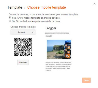 Show AdSense Ads in Mobile Version of Blogger Blog