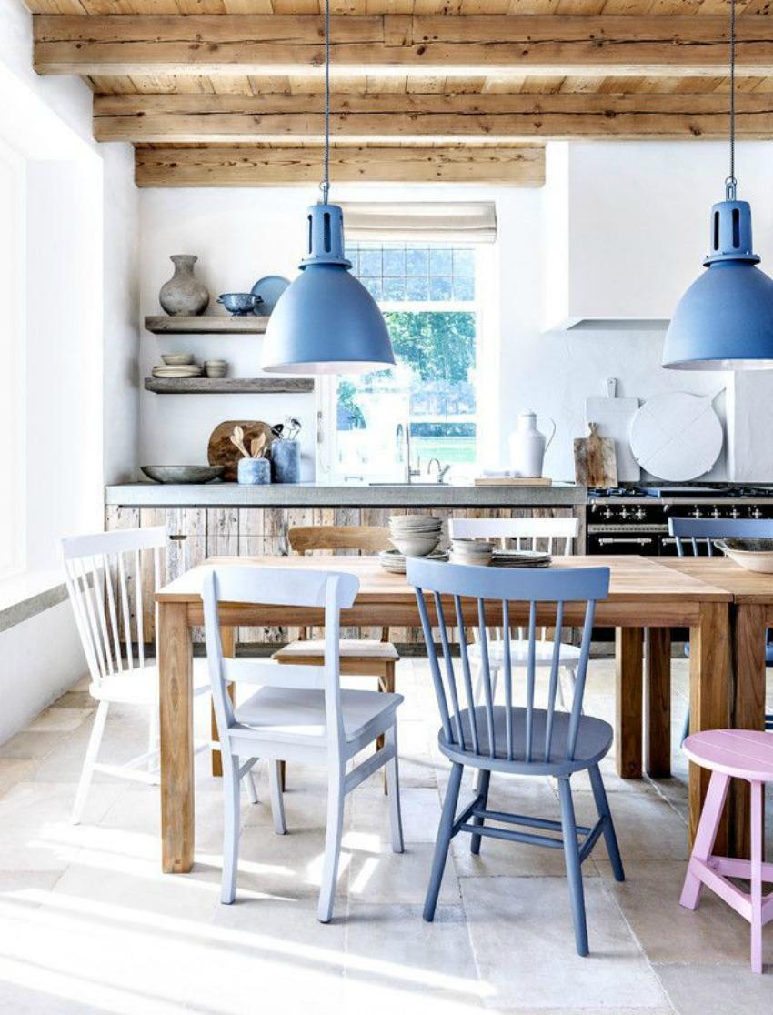 color serenity pantone cocina