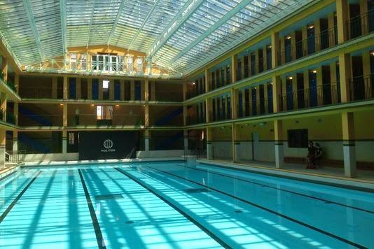 Bb de la branche transformation de la piscine molitor for Molitor piscine prix