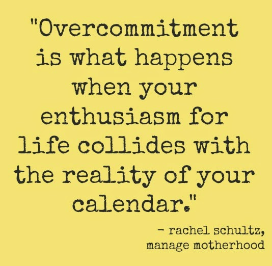 Image result for over committed