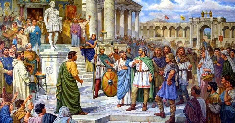Matrimonio En El Imperio Romano : Apasionados del imperio romano la fÁbula de las liebres y