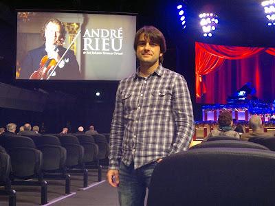 Concierto de André Rieu en Ámsterdam