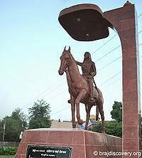 Ahilyabai Holkar Statue Mathura