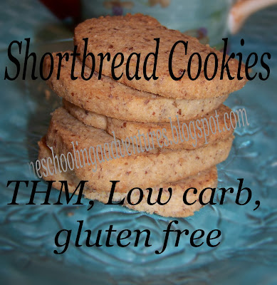 Shortbread Cookies ~ THM, Low Carb, Gluten Free