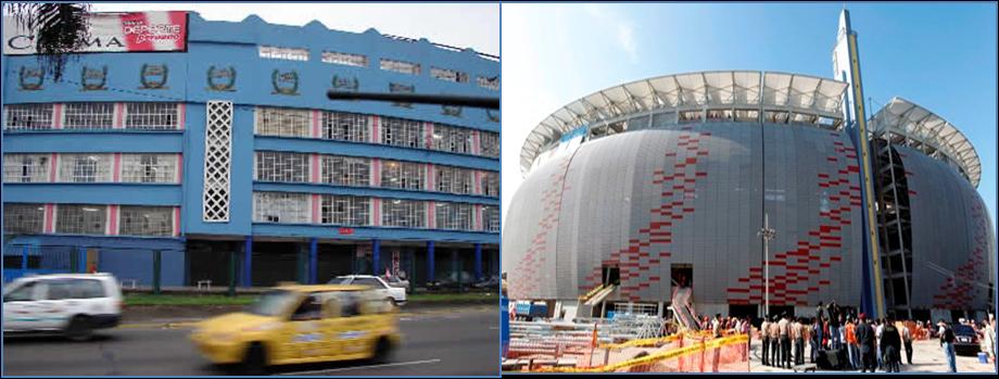 El coloso de jos d az la historia del estadio nacional for Puerta 9 del estadio nacional de lima