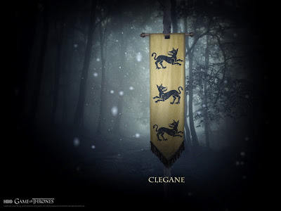 Wallpaper: Game of Thrones - Casa dos Clegane