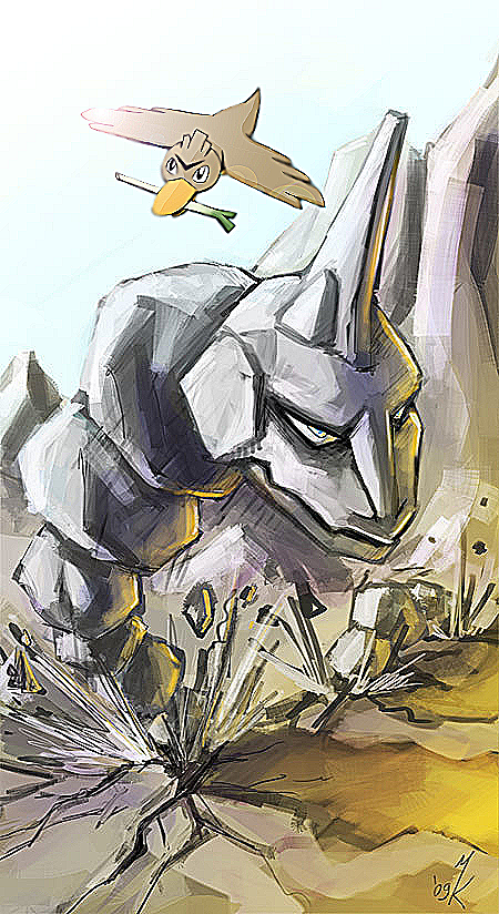 Farfetchd and Onix