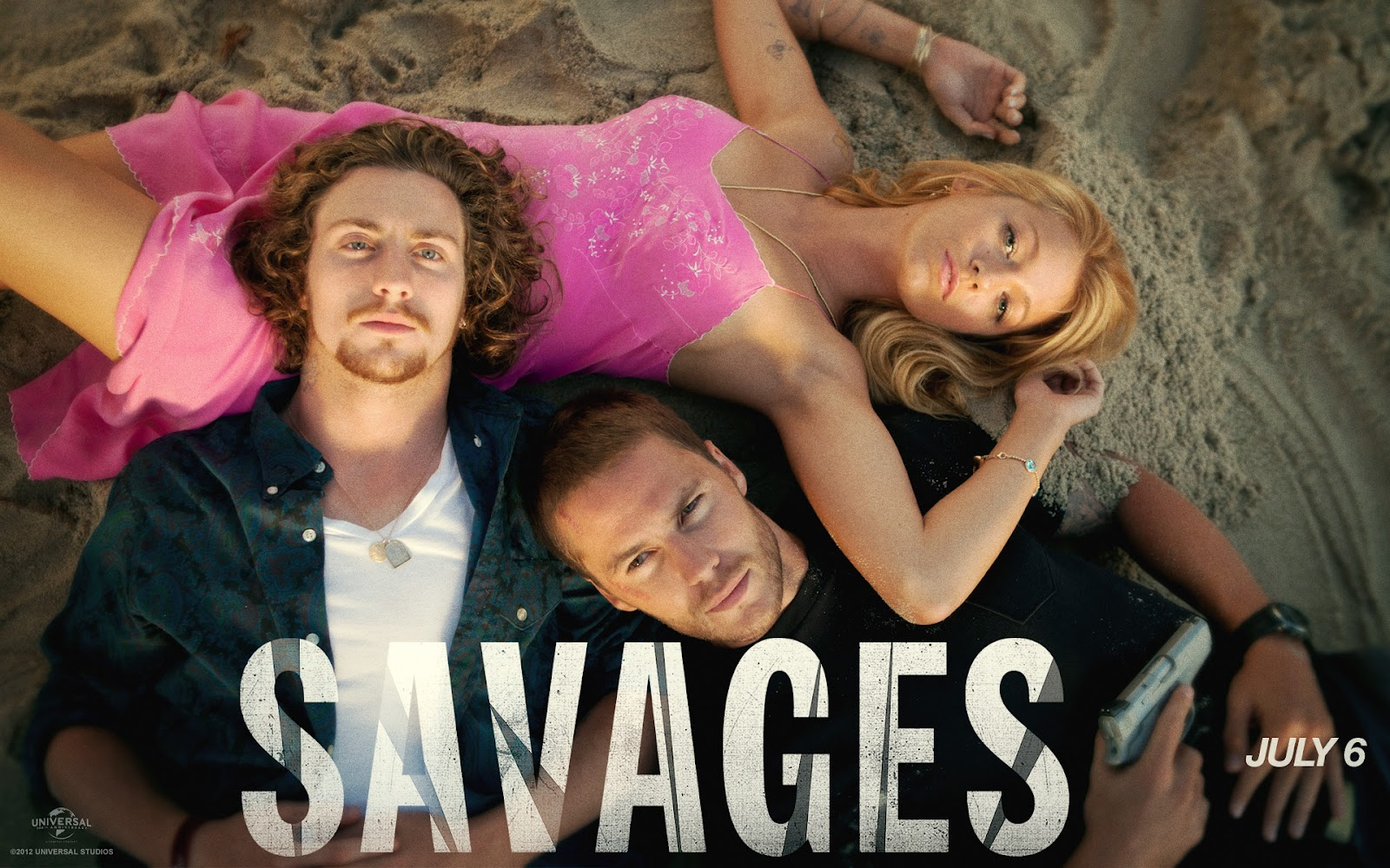 Coming in Threes   Savages and Design for Living  Aaron Taylor Johnson Savages Tattoo