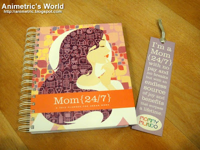 Mom 24/7 Planner 2012