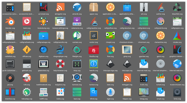 Breeze icon Theme
