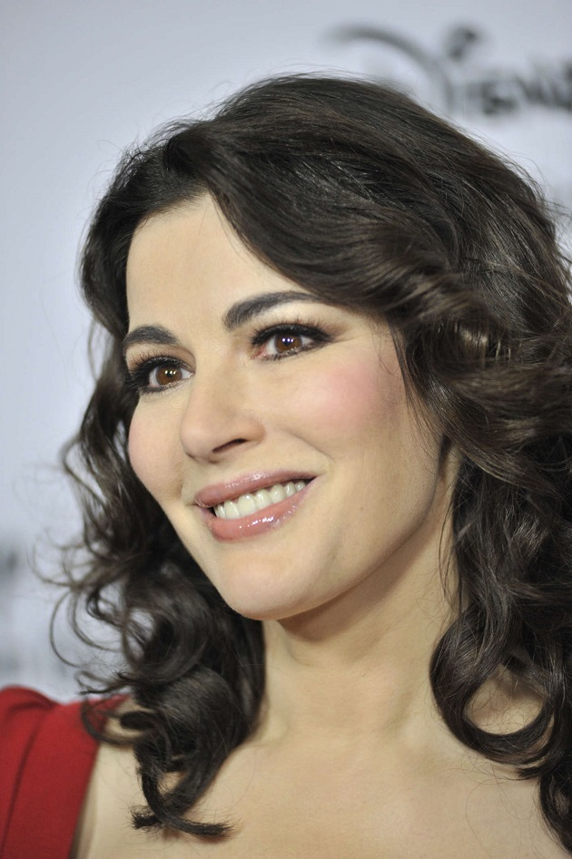 British food writer, journalist and broadcaster Nigella Lawson