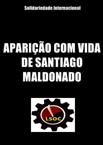 Aparição com vida de Santiago Maldonado
