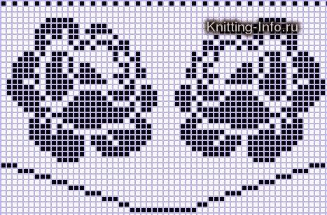 Коллекция схем для салфеток-филейное вязание крючком