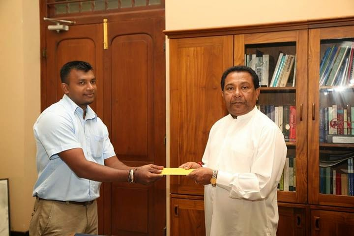 Gayan Peiris Media Secretary to Higher Education Ministry SB Dissanayake