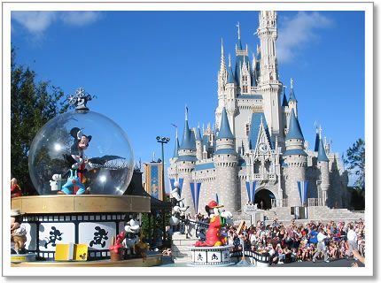 to work at Disney) at her apartment with free access to the theme park!