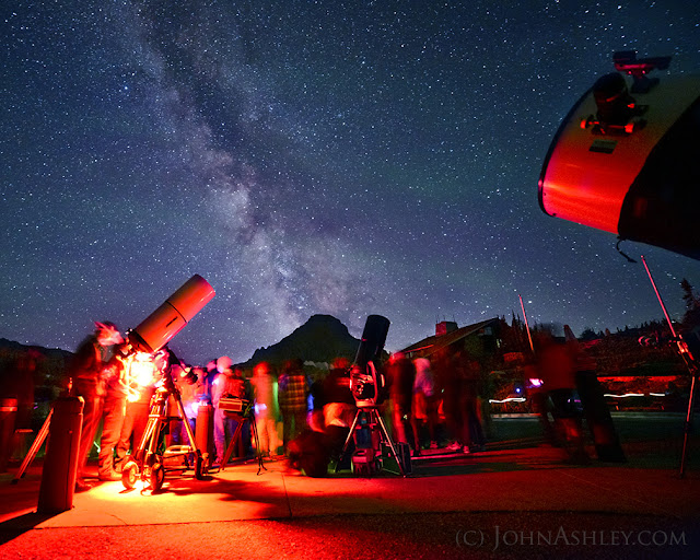 Glacier National Park star party (c) John Ashley