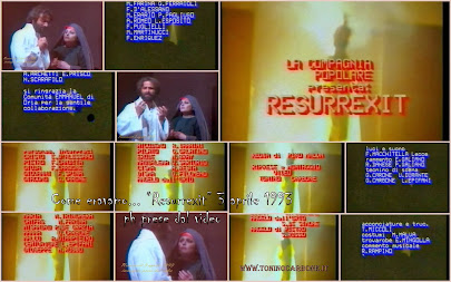 """come eravamo... """"rappresentazione teatrale """"resurrexit"""" del 3 aprile 1993"""" ... il video"""