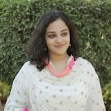 Nitya meenon Latest Photo Gallery in Salwar Kameez at New Movie Opening 48
