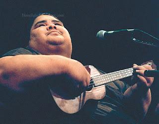 IZ with ukulele