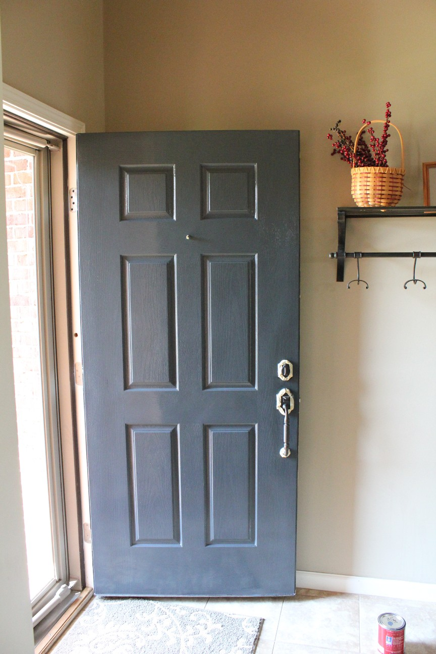 Jenson crew j crew front door uplift i then went back to the store to get the paint corrected this time i chose the black looking shade i had originally liked this color but thought it a rubansaba