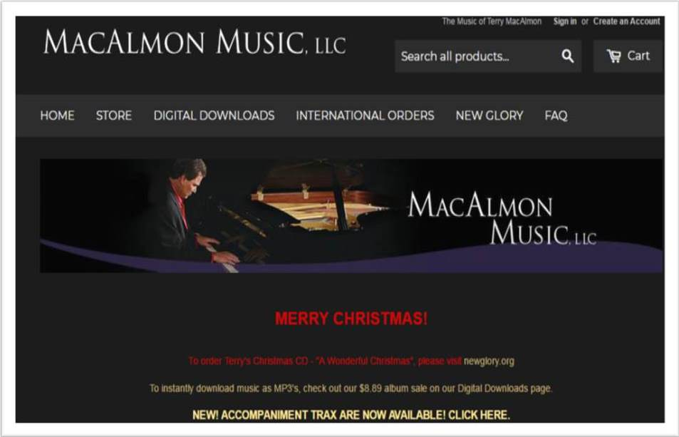 MacAlmon Music (Website)