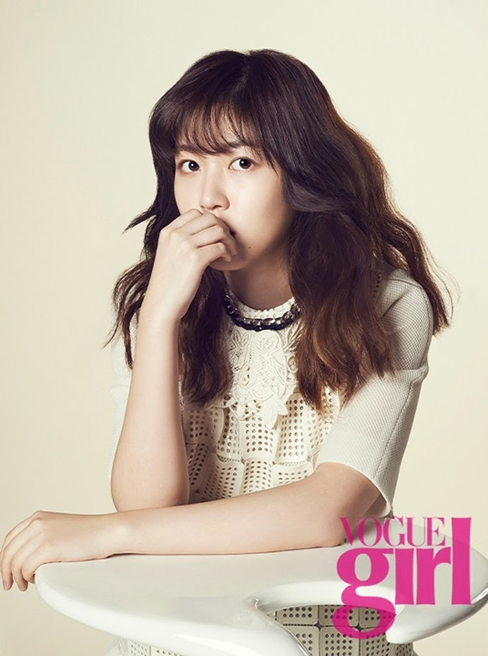 Shim Eun Kyung - Vogue Girl Magazine February Issue 2014