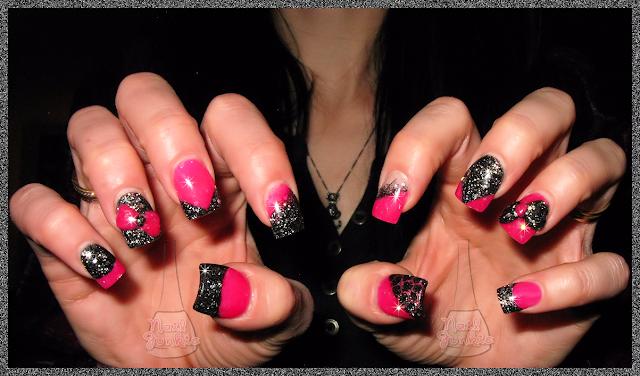 The Extraordinary Pink bow nail art ideas Pics