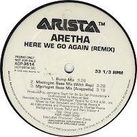 Aretha Franklin – Here We Go Again (Remix) (Promo VLS) (1998)
