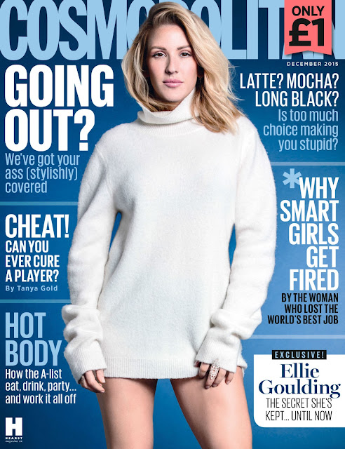 Singer-Songwriter @ Ellie Goulding for Cosmopolitan UK December 2015