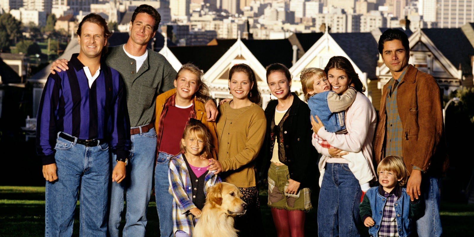 Lori Lughlin, John Stamos, Dave Coulier, Bob Saget, Candace Cameron, Jodie Sweetin, Ashley Olsen, Mary Kate Olsen